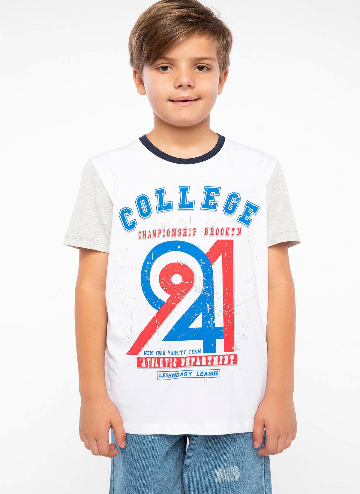 Defacto Tişört J2041a618smwt34 Baskılı T-shirt – 19.99 TL